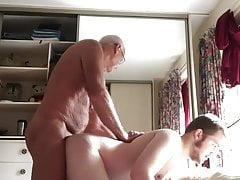 Older & younger men make love (1)