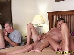 Some Guys Like Sucking Cock with Hot Girls Watching