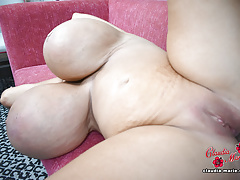 3500cc Claudia Marie Fucked In Her Fat Cellulite Ass By Black Guy